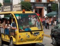 Bus turístico Chiquibus de Paseos Priego